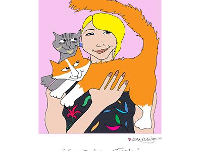 Cat Portrait Group